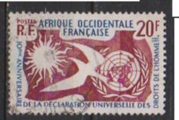 A O F       N° 74   OBLITERE  ( 304 ) - A.O.F. (1934-1959)