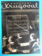 WW2 - CROATIA ( NDH ) - USTASE & POGLAVNIK DR. ANTE PAVELIC Original Vintage Magazine Hrvatski Krugovall (1943) Kroatien - Magazines & Papers