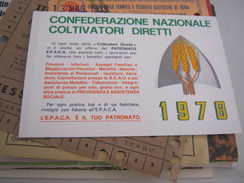 TESSERA CONFEDERAZIONE NAZIONALE COLTIVATORI DIRETTI 1978 - Documents Historiques