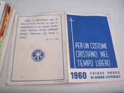 TESSERA UNIONE DONNE DI AZIONE CATTOLICA 1960 - Documenti Storici