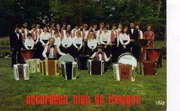 """CHANTEURS / MUSICIENS  /    L 52  """" ACCORDEON CLUB DE LIMOGES  """"    CPM / CPSM  10 X 15 - Chanteurs & Musiciens"""