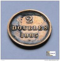 Guernsey - 2 Doubles - 1885 - Guernsey