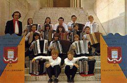 """CHANTEURS / MUSICIENS  /    L 52  """" ACCORDEON  DE CHATEAU THIERRY  """"    CPM / CPSM  10 X 15 - Singers & Musicians"""