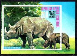 GUINEE EQUATORIALE. BF Oblitéré De 1974. Rhinocéros. - Rhinozerosse