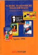 CATALOGO NUOVE EMISSIONI TELECOM ITALIA- AGOSTO 1998   - - Materiale