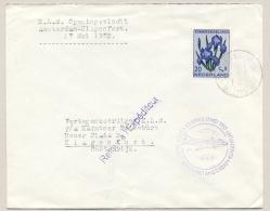 Nederland - 1953 - 20+5 Cent Zomerzegel Bloemen Op KLM Openingsvlucht Naar Klagenfurt / Österreich - Brieven En Documenten