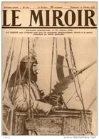 Journal LE MIROIR (1914:1918) N°221 DU 17/02/1918 OBSERVATEUR MITRAILLEUR ALLEMAND DANS LA NACELLE D'UNE SAUCISSE - Newspapers