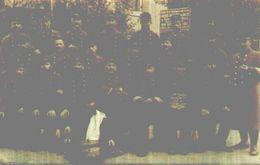 Collonges-sous-salève, Carte Photo Campagne 1914 107e Territorial Service Des GVC Poste 4 - Altri Comuni