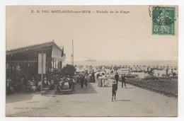 62 PAS DE CALAIS - BOULOGNE SUR MER Entrée De La Plage - Boulogne Sur Mer