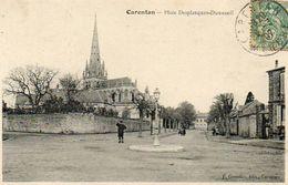 CPA - CARENTAN (50) - Aspect De La Place Desplanques-Dumesnil En 1907 - Carentan
