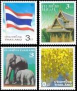 THAILAND 2003 Country's Symbols, Elephants, Flag, Fauna MNH - Thailand