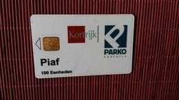 Piaf Carte Kortrijk Auto Coullant Used Pas De Luxe 2 Scans Rare - France