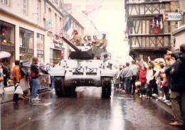 PHOTO MILITARIA (1980's) TANK USA - Réunion Véhicules Militaires / Meeting Military Vehicule (17.7 X 12.6 Cm) - War, Military