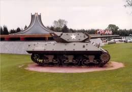 PHOTO MILITARIA (1980's) AMERICAN TANK - Réunion Véhicules Militaires - Meeting Military Vehicule  (17.7 X 12.6 Cm) - War, Military