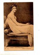Carte Portait Recamier David - Peintures & Tableaux