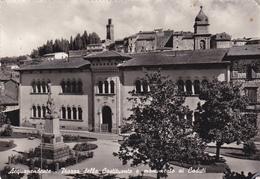 ACQUAPENDENTE /  Piazza Della Costituente E Monumento Ai Caduti  _ Viaggiata - Viterbo
