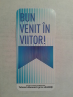 ROMANIA-CIGARETTES CARD,NOT GOOD SHAPE-0.90 X 0.42 CM - Tabac (objets Liés)
