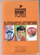 Catalogue Argus Cartes Postales Vente Prix Net Boubet 1987 état Superbe - Livres
