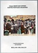 Catalogue Cartes Postales Vente Sur Offres Del Balzo N° 47 1993 état Superbe - Livres