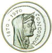 [NC] ITALIA - 1000 LIRE 1970 ROMA CAPITALE ARGENTO FDC DA DIVISIONALE - 1946-… : Repubblica