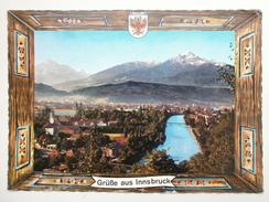 Postcard Grusse Aus Innsbruck Postally Used 1969 My Ref B21655 - Greetings From...
