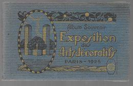 PARIS Carnet Complet De 20 CPA Exposition Des Arts Décoratifs 1925 (Papeghin) (75) - Mostre