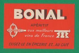 Buvard - BONAL APERITIF - Blotters