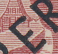 Berlin Nr. 14 II (Balken Im E Von BERLIN Verlängert) ~ Michel 20,-- Euro - Berlin (West)