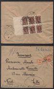 MOSCOU - RUSSIE - URSS / 1922 LETTRE RECOMMANDEE POUR LA FRANCE (ref 7494) - 1917-1923 Repubblica & Repubblica Soviética