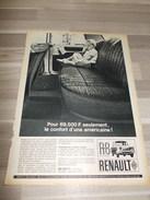 Reclame Uit Oud Tijdschrift 1964 - Renault R8 - Publicités