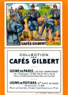 Cafés GILBERT, Série VI N° 10,  Le Café Dans L'armée, Soldat, WWI, Uniforme - Thé & Café