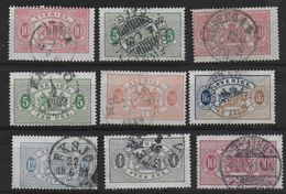 Sweden Lot Official Stamps - Servizio