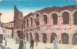 Italie - Verona - L'Arena (colorisée) - Verona