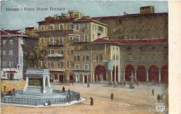 Italie - Livorno - Piazza Vittorio Emaniele (couleur) - Livorno
