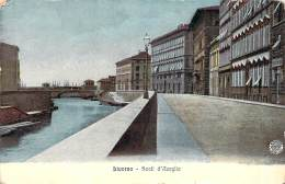 Italie - Livorno - Scali D'Azeglio (couleur Vernie) - Livorno