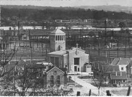 91 - ATHIS MONS : Notre Dame De La Voie ( 1er Mai 1954 ) CPSM Dentelée Noir Blanc GF - Essonne - Religion Christianisme - Athis Mons