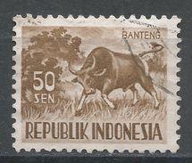 Indonesia 1956, Scott #430 (U) Banteng, Taureau - Indonésie