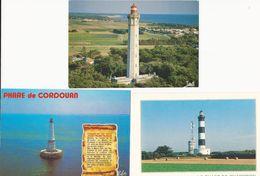 France: 7 Cartes Postales Phares - Lighthouses