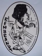 Sticker Student Rembrandt Schaarbeek Rue De Brabantstraat Cafe? 16 X 23 Cm - Stickers