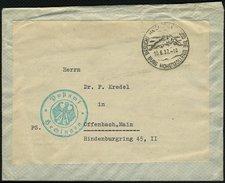 DT.REICH, SST. HECHINGEN 10.6.37 AUF POSTSACHE - Germany