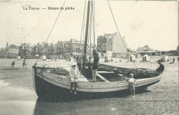 De Panne La Panne Bâteau De Pêche - 1912 - De Panne