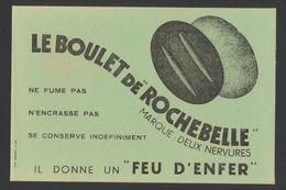Buvard - BOULET DE ROCHEBELLE - FEU D'ENFER - Blotters