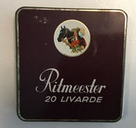 OLD EMPTY TIN   TOBACCO  RITMEESTER - Boites à Tabac Vides