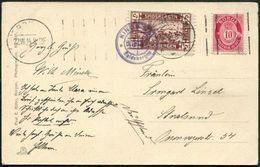 Arctic SPITSBERGEN Private Local Spitzbergen Spidsbergen Svalbard 1914 Post Card Schiffspost POLAR BEAR Seal WALRUS Ship - Faune Arctique
