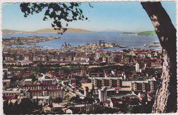 TOULON EN 1960,VAR,PORT,VUE AERIENNE,PANORAMIQUE,IMMEUBLE  ANCIEN,83 - Toulon