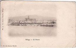 Spain: Malaga - El Puerto Postcard To Clapham, London - Spanien