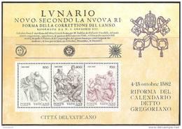 Vaticano 1982 - Foglietto  4 - Calendario Gregoriano - MNH** - Blocs & Feuillets