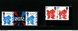 GREAT BRITAIN - 2012  OLYMPICS LOGO   SET  EX PRESTIGE BOOKLET   MINT NH - 1952-.... (Elisabetta II)