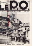 REVUE  P.O. ILLUSTRE-N° 21-ROCHE POSAY-1932-BORDEAUX-PAUILLAC-GENTILLY SCEAUX-VIOLETTE TOULOUSE-NANTES-CAPDENAC LE HAUT - Railway & Tramway