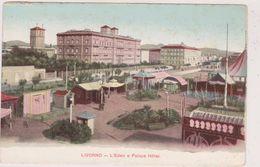 Cpa,italie,TOSCANA,LIVORNO,l´eden   Palace Hotel,edizione MEI ALBERTO ,italia - Livorno
